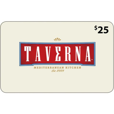 Taverna Mediterranean Kitchen - 2 x $25 for $40
