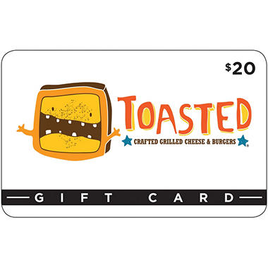 Toasted - 3 x $20 for $48