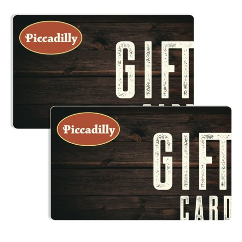 Piccadilly Restaurant $50 Value Gift Cards - 2 x $25