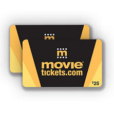 MovieTickets.com - 2 x $25