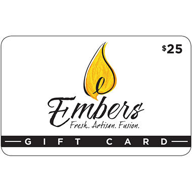 Embers 2 x $25 for $40