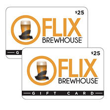 Flix Brewhouse Gift Card - 2/$25
