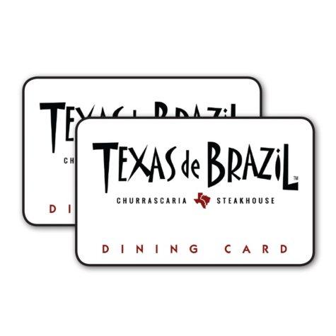 Texas De Brazil $100 Value Gift Cards - 2 x $50