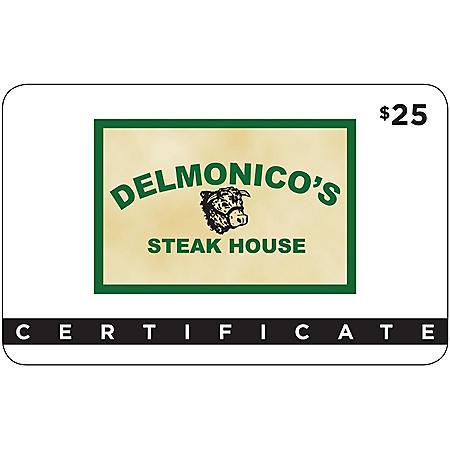 Delmonico's Steak House - 2 x $25 for $40