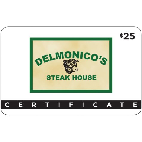 Delmonico's Steak House - 2 x $25 for $40