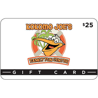 Kokomo Joe's Family Fun Center - 2 x $25 for $35