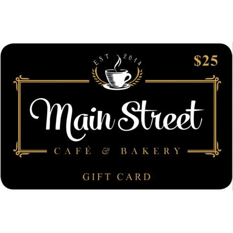 Main Street Cafe & Bakery - 2 x $25 for $40