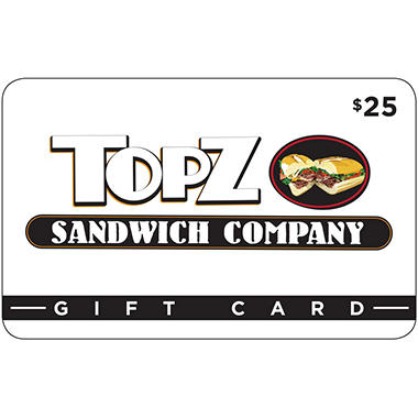 Topz Sandwich Company - 2 x $25 for $40