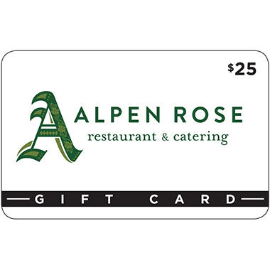 Alpen Rose Restaurant & Cafe 2 x $25 for $40