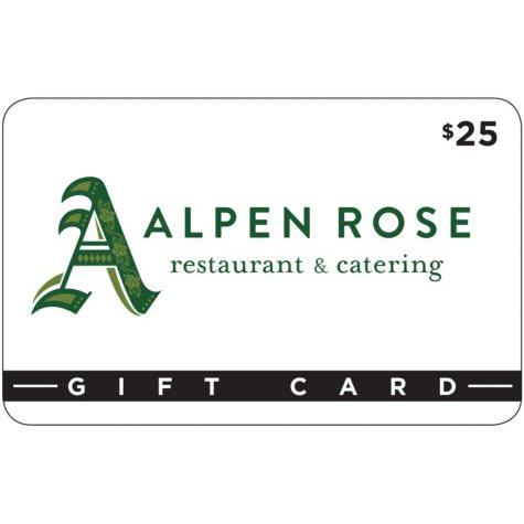 Alpen Rose Restaurant & Cafe 2 x $25 for $40