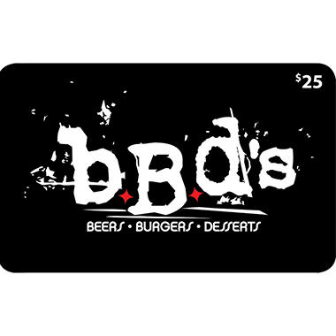 BBD's Beers, Burgers, Desserts 2 x $50 for $79.98