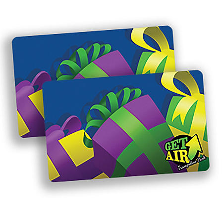Get Air Trampoline Park $50 Value Gift Cards - 2 x $25