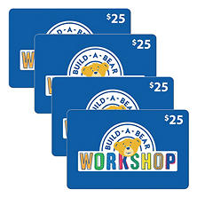 Build-A-Bear Workshop - 4 x $25