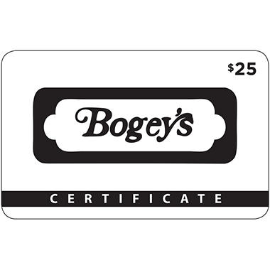 Bogey's 2 x $25 for $40