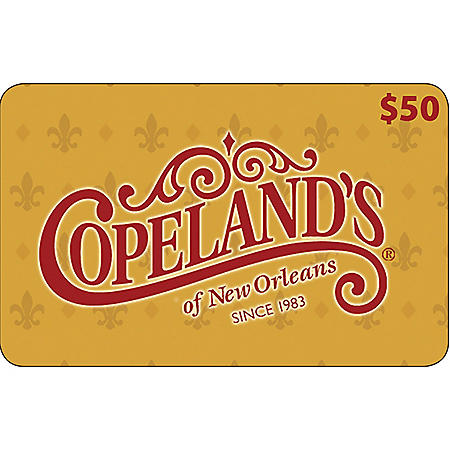 Copeland's of New Orleans - 2 x $50
