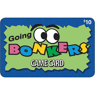 Texas Going Bonkers Family Fun Center $50 Value Gift Cards - 5 x $10