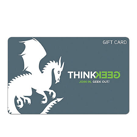 ThinkGeek eGift Card (Email Delivery) - Various Amounts