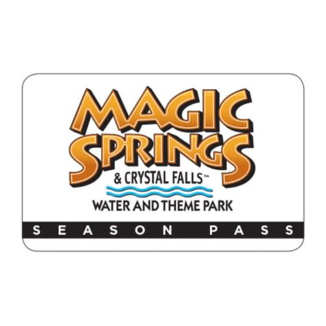 Magic Springs 2018 Season Pass $80 Value
