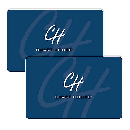 Chart House (Landry's) $120 Value Gift Cards - 2 x $50 Plus $20 Bonus