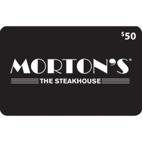 Morton's (Landry's) $120 Value Gift Cards -  2 x $50 Plus $20 Card