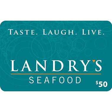 Landry's $120 Value Gift Cards - 2 x $50 Plus $20 Card