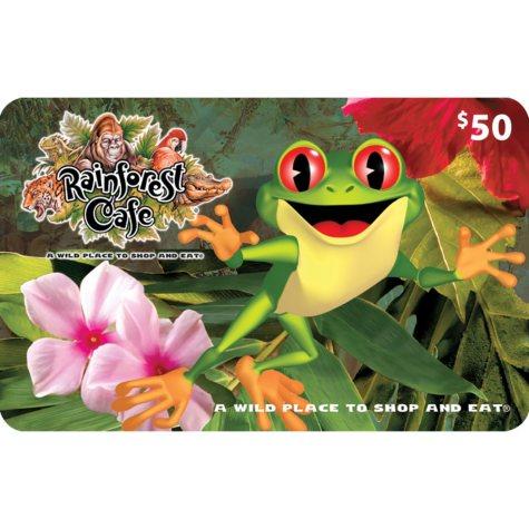 Rainforest Café (Landry's) $120 Value Gift Cards -  2 X $50 Plus $20 Bonus