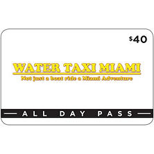 Water Taxi Miami - All Day Pass