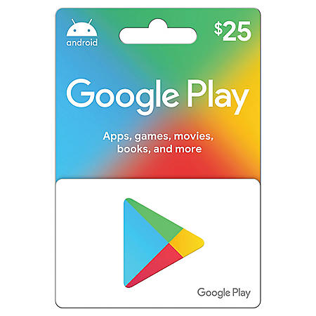 Google Play $25 Gift Card