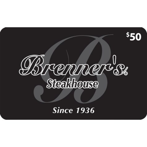 Brenner's Steakhouse (Landry's) -  2 X $50 plus $20 bonus