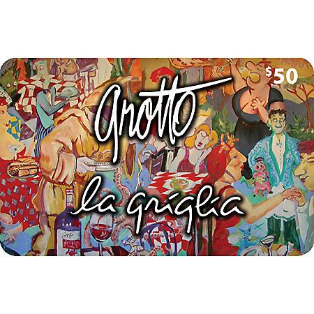Grotto Ristorante (Landry's) Gift Cards - 2 X $50 plus a Bonus $20 Card