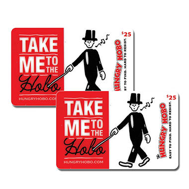 The Hungry Hobo (IA, IL) $50 Value Gift Cards - 2 x $25