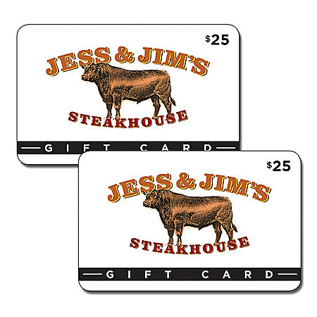 Jess and Jim's Steakhouse - 2 x $25 for $40