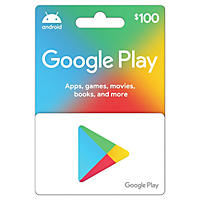 $100 Google Play Gift Card Deals