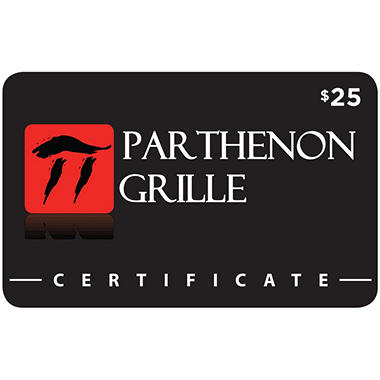 Pathenon Grille - 2 x $25 for $40