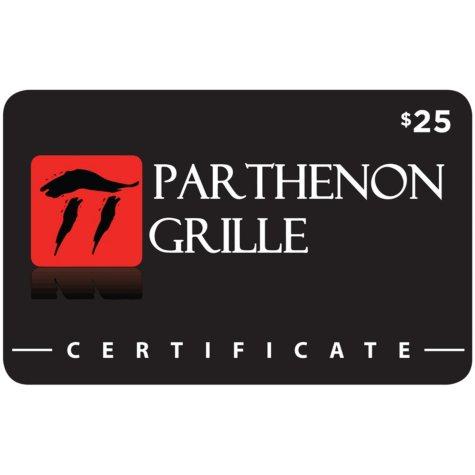 Pathenon Grille - 2 x $25 for $40