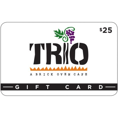Trio Brick Oven Café 2 x $25 for $40