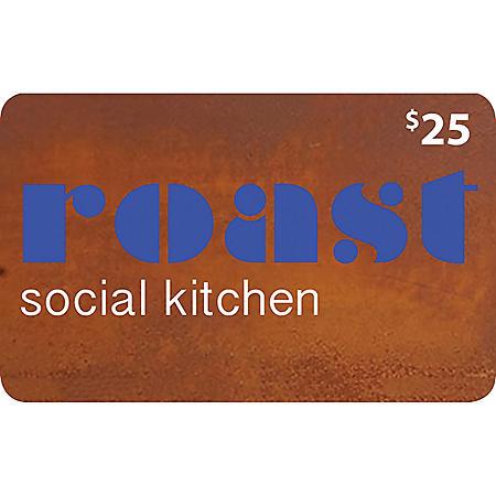 Roast Social Kitchen - 2 x $25 for $40