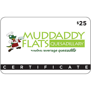 Muddaddy Flats - 2 x $25 for $40
