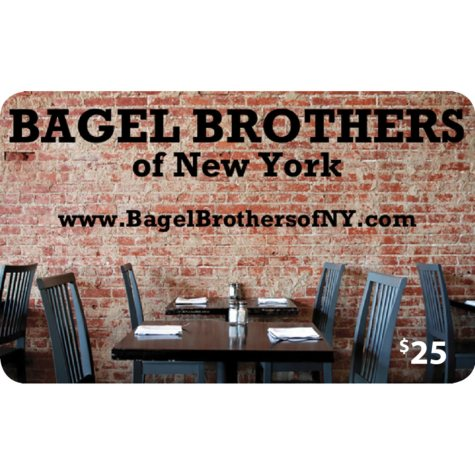 Bagel Brothers of New York - 2 x $25 for $40