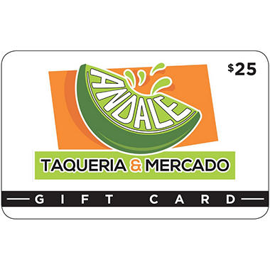 Andale Taqueria & Mercado - 2 x $25 for $40