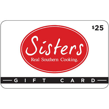 Sisters Real Southern Cooking - 2 x $25 for $40