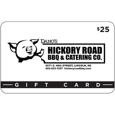 Hickory Road BBQ - 2 x $25 for $40