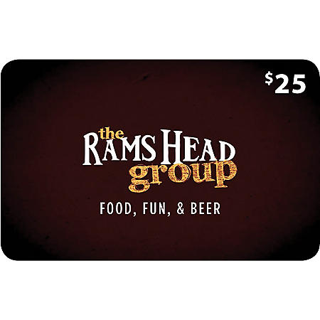 The Rams Head Group - 2 x $25 for $40