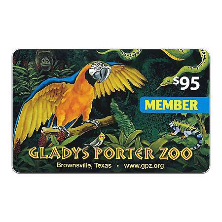 Gladys Porter Zoo - $95 Family Plus membership for $66