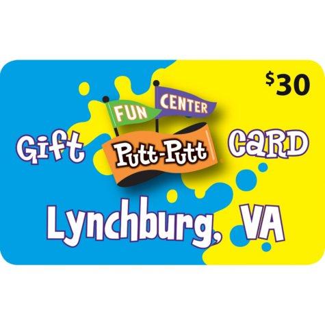 Putt Putt Fun Center - 2 x $30 for 48