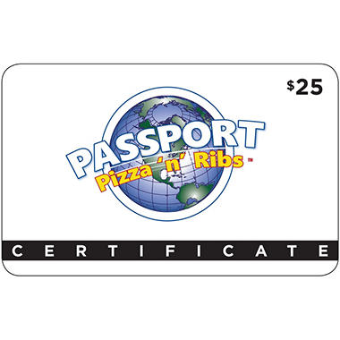 Passport Pizza (MI) $50 Value Gift Cards - 2 x $25