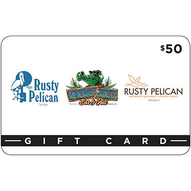 Specialty Restaurants Florida $100 Value Gift Cards - 2 x $50
