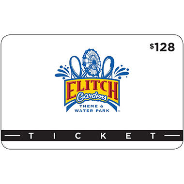 Elitch Gardens - 2 Day Passes and 2 combo meals