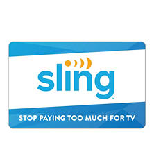 Sling TV - $100 Value