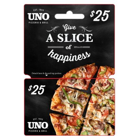 UNO Pizzeria & Grill $25 Gift Card